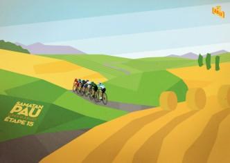 Tour de France Posters - Bruce Doscher