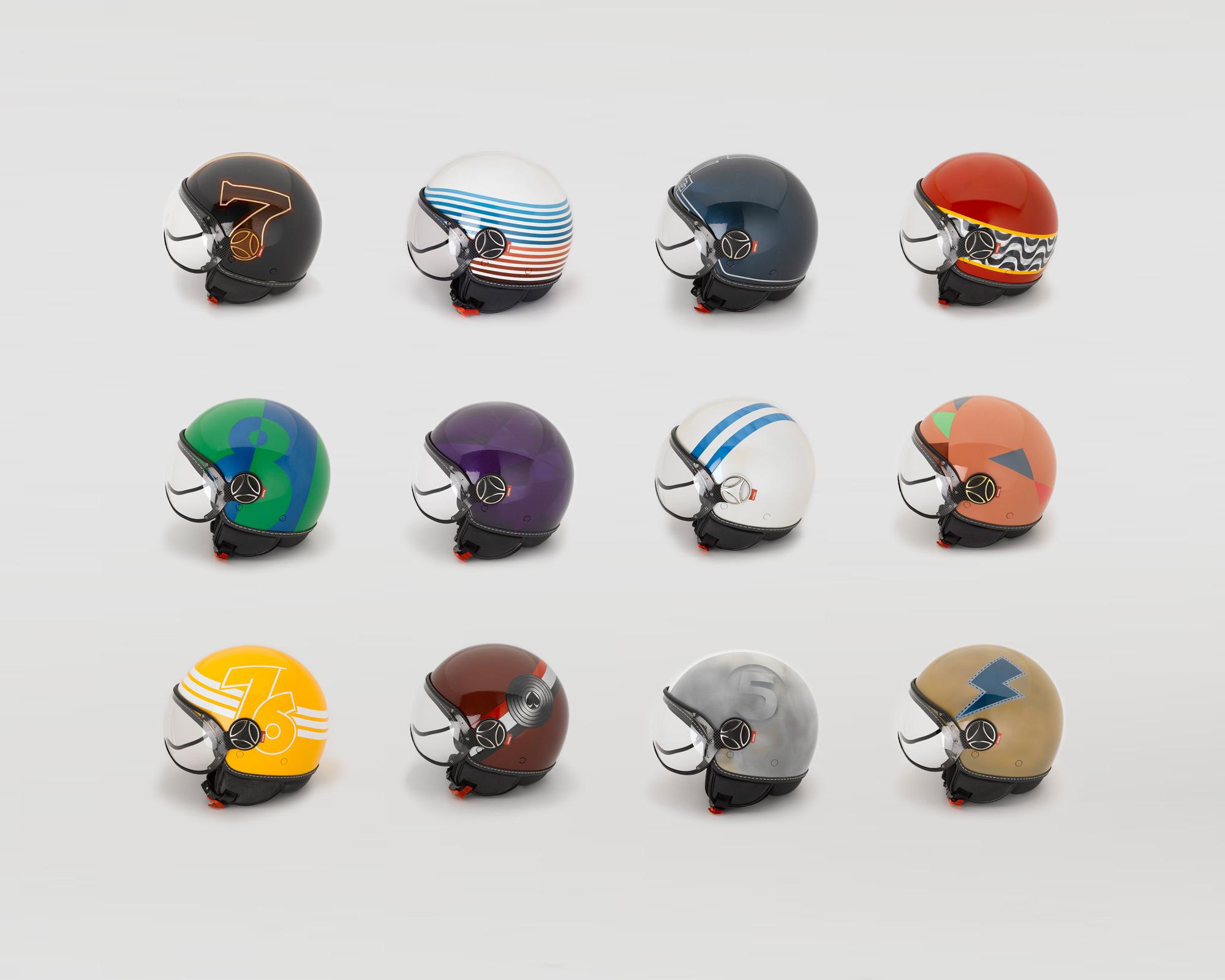 Peroni Helmets - Bruce Doscher